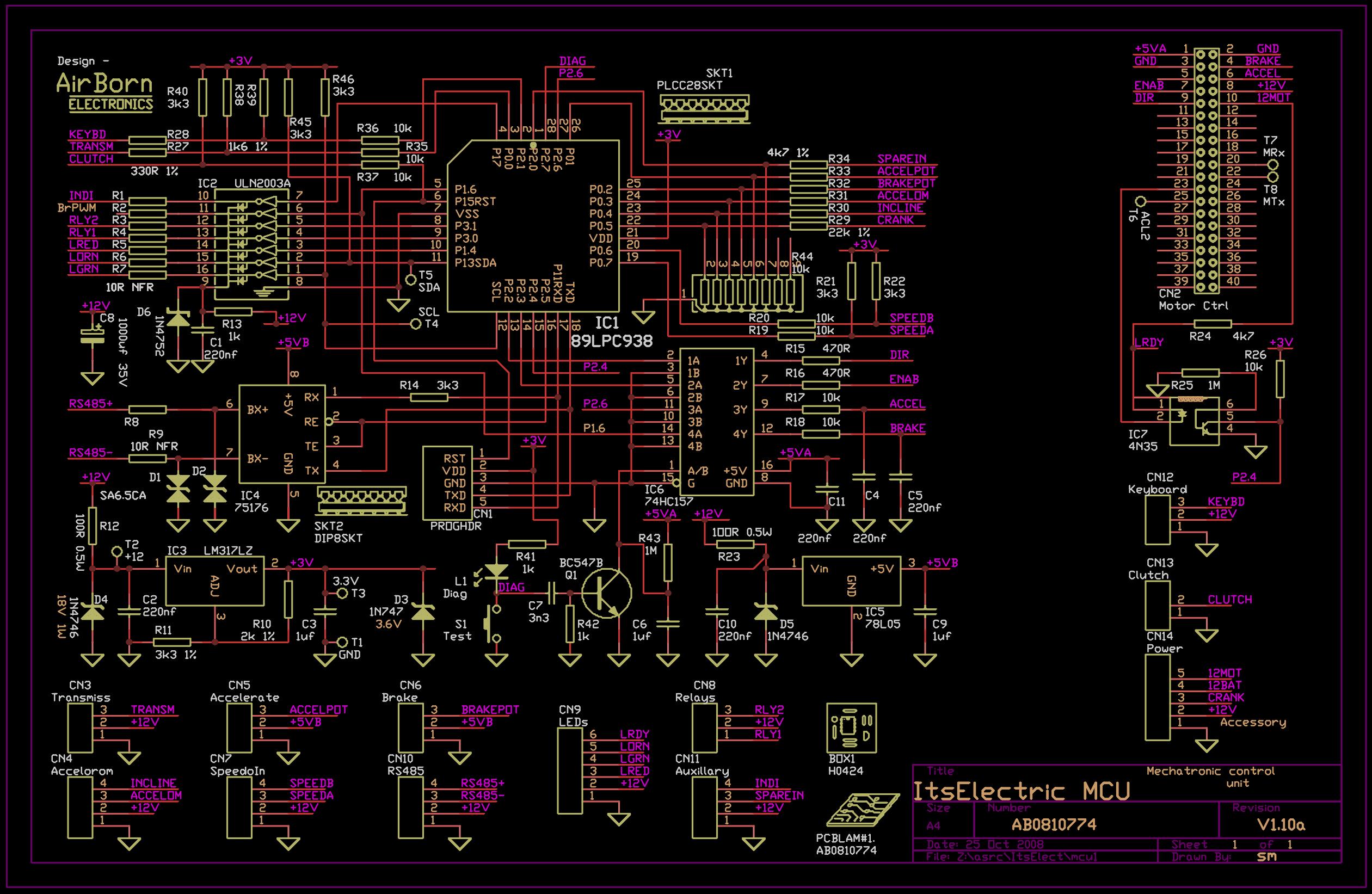 Mechatronic Control Unit  Ab0810774