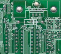 pcb etching printed circuit board etching and manufacturefinal stages pcb section